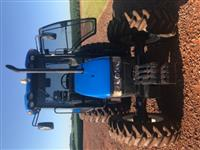 Trator New Holland TL 75 E 4x4 ano 10