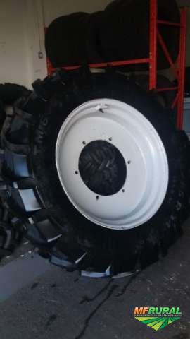 Comercio de pneus com Rodas  e Vulcanização - Usados Agrícolas