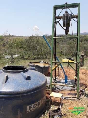 Perfuração  de poço  semi artesianos