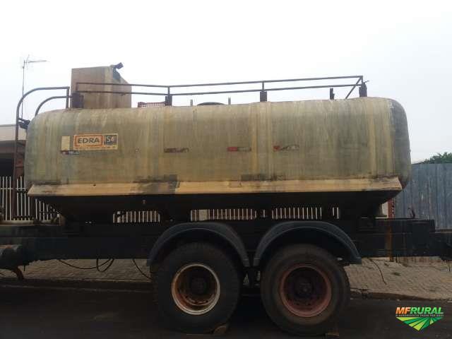 Tanque pra transporte de vinhaça de fibra