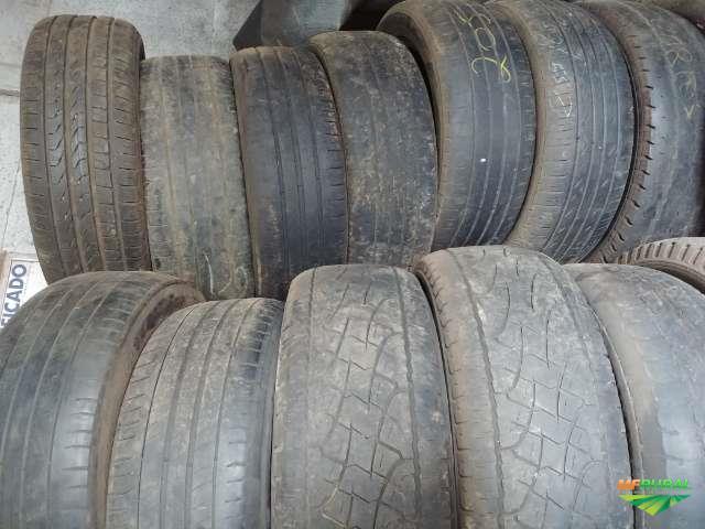 Lote com 70 pneus