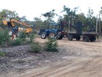 Prestação de serviço e/ Locação de máquina florestal