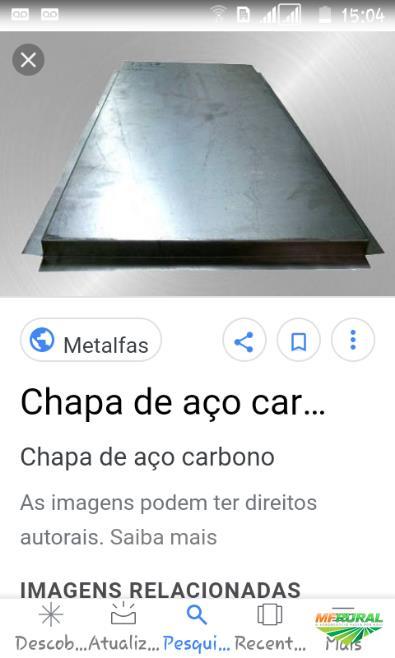 Chapa aço carbono