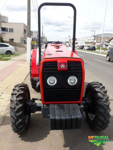 Trator Massey Ferguson 265E 4x4 ano 10