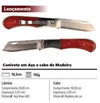 Canivete em Aço Inox