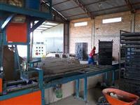Fabrica de telhas de cimento ou  concreto.