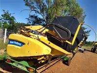 COLHEITADEIRA E PLATAFORMA NEW HOLLAND CS660