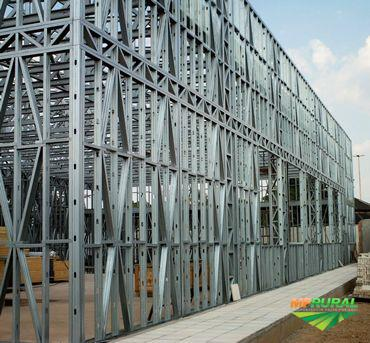 Barracao steel frame