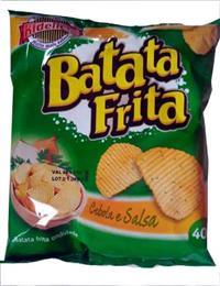 Batata Chip cebola e salsa Ki-Delicia - 40 Grs - caixa c/ 20 Unid.