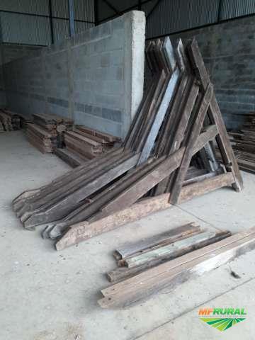 madeira de demolição