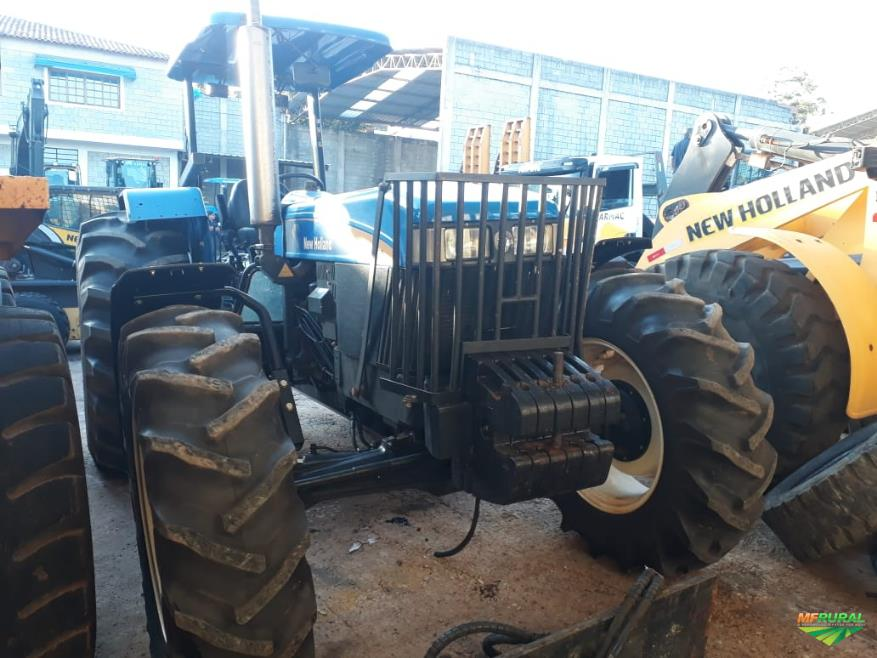 Trator New Holland 7630 4x4 ano 18