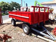 carreta de 4 rodas capacidade 4000 kg