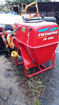 Pulverizador 500 litros fmcopling