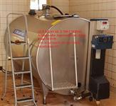Tanque Resfriador De Leite 2700 Litros Com Aquecedor De Aguá