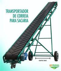 Esteira Transportadora Moderna com Correia Levantamento Manual ou Automático 6 8 10 12 metros