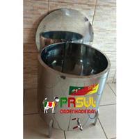Pasteurizador em inox 4 meses de uso Barbada 80 litros