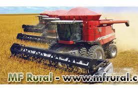 Serviços de colheita de soja, milho, feijão e trigo