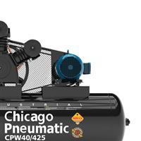 Compressor 40 pés / 10 HP Chicago Pneumatic - Semi Novo