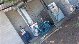 Máquina de gelo cubo e escama
