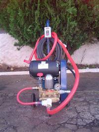 Lavadora de Alta Pressão 27 litros por minuto, motor 3 cv trifásico, Bomba HS-30