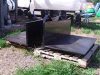 Plataforma Agrícola Traseira Simples Capacidade de Carga 500 kg