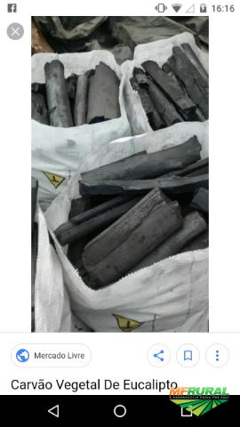 Carvão vegetal eucalipto