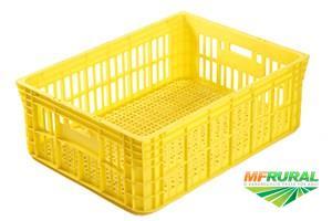 Caixa Plástica Coluna Dupla Capacidade Carga 40 kg