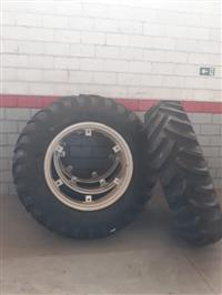 4 pneus 18-4-38 pirelli 10 lonas