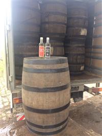 Barris de Carvalho Importadas com Malte Whisky