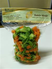 Legumes minimamente processados