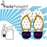Chinelos Paula Furquim