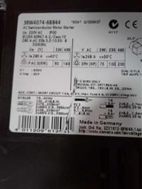 VENDO SOFT STARTER SIEMENS 3RW4074-6BB44 200~460 VOLTS