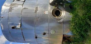 Tanque reservatório INOX 304 isotérmico usado