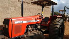 Trator Massey Ferguson 283 Advanced 4x4 ano 03