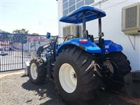 Trator New Holland T6 110 4x4 ano 18 Novo