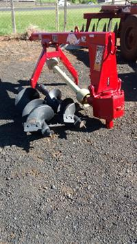 Perfurador de solo Tatu, com broca de 9 e 12 polegadas