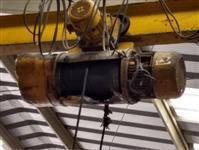 Talha com cabo de aço e motor eletrico 5TON – marca Torwell
