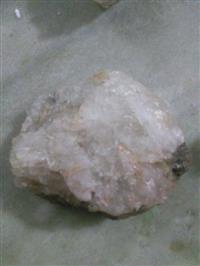 Pedras quartzo bruta