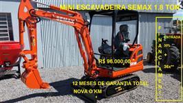 Miniescavadeira Nova Okm - 1.8 Toneladas Bobcat