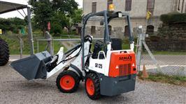 Mini Pá Carregadeira Articulada Semax SX 125 - Capacidade 1480Kg, Nova 0km.