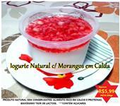 Iogurte Gourmet Artesanal - Pote 250gr Só R$5,99  - Pedidos/WhatsApp: (14) 99744-5282