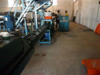 Máquina de telha de concreto