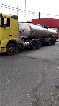 Carreta tanque semi reboque marca Gotti - 1993