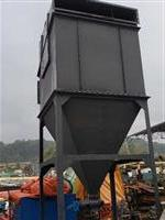 Filtro multiciclone com 90 ciclones (tubos em ferro fundido) 2100mm X 2100mmb alt 5800mm