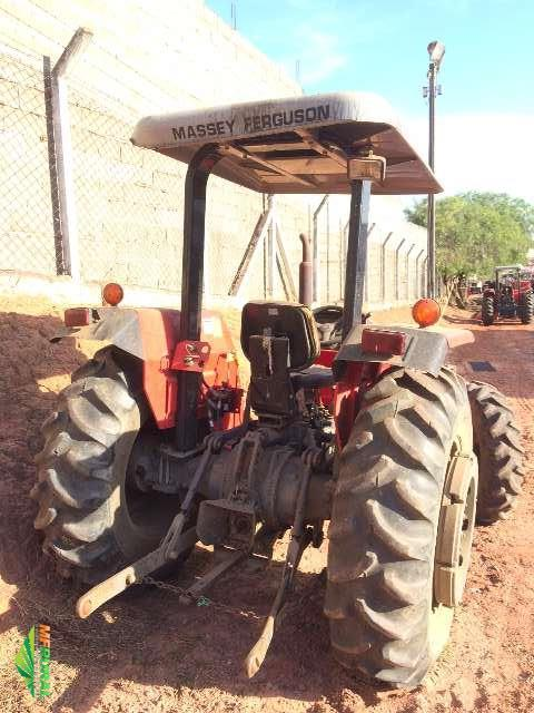 Trator Massey Ferguson 255 Advanced 4x4 ano 10