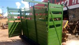 Balança tipo brete para pesagem de bovinos, capacidade 1500 kg usada