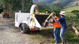 Aluguel - locação de trituradores de galhos, galhadas, madeira, picador de galhos