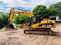 320C LME Escavadeira