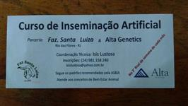 Curso de Inseminação Artificial em Bovinos