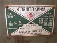 motor estacionario nb10 yanmar ,